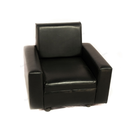 Picture of VIP Single Seat Sofa - Black