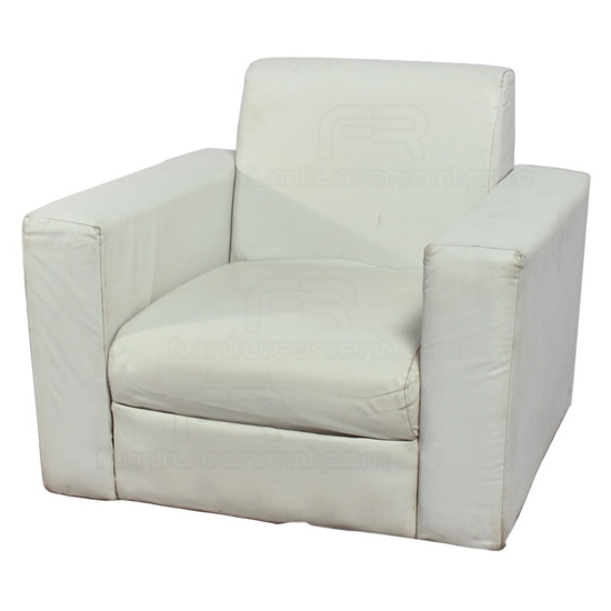 Picture of VIP Single Seat Sofa - White